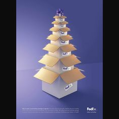 FedEx Holiday repinned by www.BlickeDeeler.de