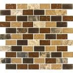 MS International Sonoma Blend 12 in. x 12 in. x 8 mm Glass Stone Mesh-Mounted Mosaic Tile-SGL-SB-8MM - The Home Depot