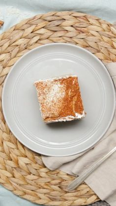 Rich, creamy horchata soaked up to spongy perfection by a tres leches cake is an inevitable combination.