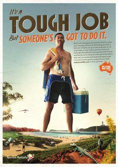 It's a Tough Job but somenone's got do it. #Australia