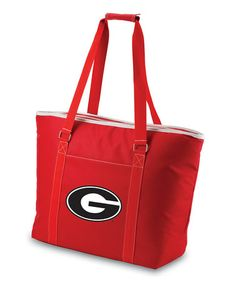 This Georgia Bulldogs Red Tahoe Insulated Cooler Tote is perfect! #zulilyfinds