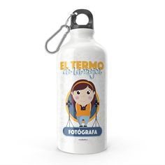 Termo - El termo del mejor fotógrafo, encuentra este producto en nuestra tienda online y personalízalo con un nombre. Water Bottle, Drinks, Carton Box, Store, Crates, Drinking, Beverages, Water Bottles, Drink