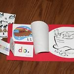 Noah's ark book/activity pack
