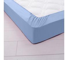 Jednofarebná napínacia posteľná plachta, polycoton | blancheporte.sk #blancheporte #blancheporteSK #blancheporte_sk #zimnákolekcia #zima #domov #bytovytextil