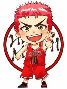 Anime Chibi, Kawaii Anime, Manga Anime, Slam Dunk Manga, Character Art, Character Design, Give Me Five, Basketball Anime, Anime Stars