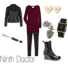 Ninth Doctor. I would ditch the heels on the boots, but other than that, love it.