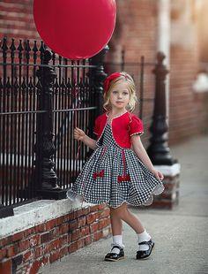 Besties Bolero - Dollcake US Cute Little Girl Dresses, Dresses Kids Girl, Cute Dresses, Kids Outfits, Baby Frocks Designs, Kids Frocks Design, Baby Dress Design, Frock Design, Sailor Dress