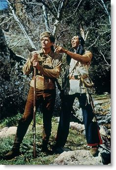 Daniel Boone - Fess Parker and Ed Ames 1964-1970