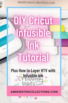 Infusible Ink took the Cricut world by storm back in June 2019. My Facebook community begged me to create a tutorial for them, I decided to give it a go. Now sometime later I create a special SVG for layering multiple colors on an Infusible Ink t-shirt. | Abbi Kirsten Collections #papercrafts #cricut #svg
