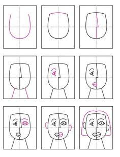 Dessiner un portrait à la manière de Picasso