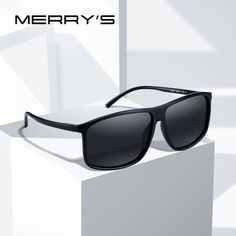 8c0d1227a MERRYS DESIGN Men HD Polarized Sunglasses Sports Fishing Eyewear UV400  Protection S8310