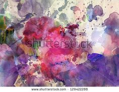 Grunge painting background - abstract texture