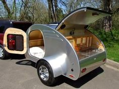 53 Beautiful Diy Camper Trailer Design, A concession trailer is going to be asked to stick to the exact same rules as a conventional brick and mortar storefront. Various trailers have variou. Teardrop Trailer Plans, Trailer Kits, Teardrop Camper Trailer, Trailer Build, Rv Campers, Camper Trailers, Travel Trailers, Diy Camper Trailer Designs, Small Camping Trailer