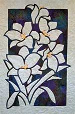 Spring Lilies - white