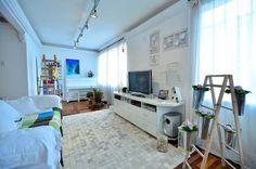Ideias sustentáveis para reforma de apartamento - apê sustentável - reforma - dream home - arquiteta Daisy Dias - sala de estar - living room