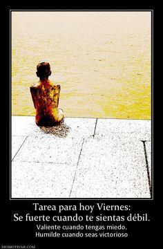 Imagen de http://www.desmotivar.com/img/desmotivaciones/83733_tarea-para-hoy-viernes-se-fuerte-cuando-te-sientas-debil.jpg.