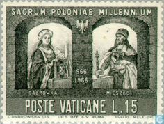 Vatican City - Christening Poland 1000 years 1966