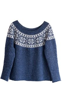 Ravelry: Winter Star / Vinterstjerne pattern by Wenche Roald Etnic Pattern, Knit In The Round, Clothing Patterns, Ravelry, Pullover, Knitting, Blouse, Winter, Casual