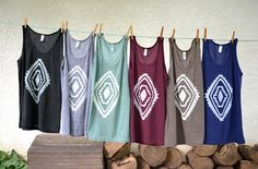 Tank Tops - one of each please! Perfect top for layering under chunky cardigans or in the summer with white jeans.