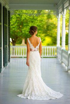 Elegant and Dreamy Wedding Dress Trains