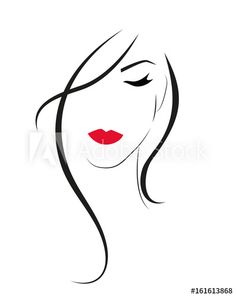 1 million+ Stunning Free Images to Use Anywhere Pencil Art Drawings, Art Drawings Sketches, Easy Drawings, Illustration Mode, Silhouette Art, Drawing People, Face Art, Woman Face, Doodle Art