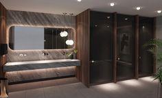 Wc Design, Toilet Design, Lounge Design, Wc Public, Public Shower, Washroom Design, Bathroom Design Luxury, Office Bathroom, Bathroom Layout