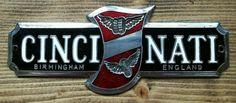 1950s cincinati car badge