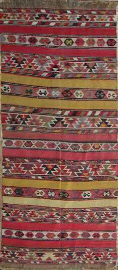 Tribal Caucasian Kilim