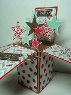 A Fanatical Stamper: Simply Stars - Card in a Box