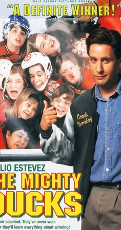 Directed by Stephen Herek.  With Emilio Estevez, Joss Ackland, Lane Smith, Heidi Kling. A self-centered lawyer is sentenced to community service coaching a rag tag youth hockey team.