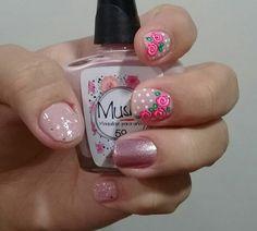 Enamels, Nail Art Designs, Roses, Nail Polish, Beauty, Enamel, Stickers, Finger Nails, Feet Nails