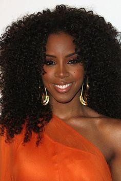 Ative os cachos: Kelly Rowland
