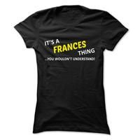 Its a FRANCES thing... you wouldnt understand!