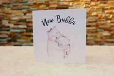 Find a beautiful gift for a fellow new mum, mother or grandmother. New Mummy, Wombat, Gifts For Mum, New Baby Products, Place Card Holders, New Babies