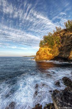 Looks like shore of Superior.  Pointe cap jaune