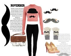 Movember Special Look - Its mustache everywhere, support the Movember initiative, flaunt the mustache! @The Closet Label @Myntra.com #limeroad #betseyjohnson #3otherthings