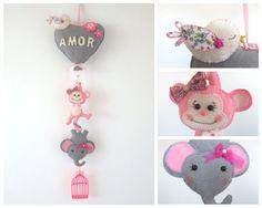 Porta maternidade coração balão www.facebook.com/raiodesolartesanato.page