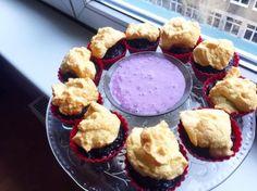 Čučoriedkovo- čokoládové muffinky nabité proteínom