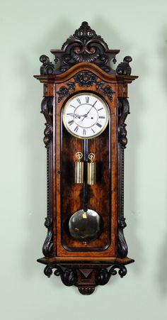 antique clocks exceptional lenzkirch vienna c Antique Watches, Antique Clocks, Plywood Furniture, Furniture Decor, Furniture Design, Classic Clocks, Pendulum Clock, Cool Clocks, Mantel Clocks