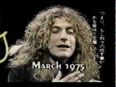 RARE FILMED INTERVIEW: #RobertPlant - Midnight Special, 1975.