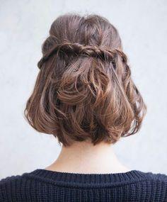 Half hair twist
