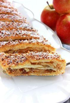 Apfelstrudel: Gâteau autrichien