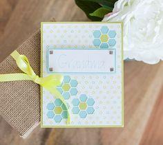 Grandma Card - Made with Cricut Explore - Grandma will love this homemade card!