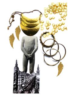 Niecorlage Creative Process niecorlage.com  Collage Beauty Jewelry  #collage #jewelry