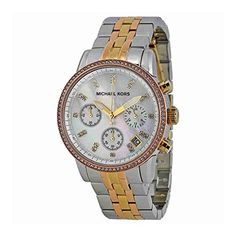 Michael Kors Womens Ritz TriTone Watch MK5650 >>> Check this awesome product by going to the link at the image.