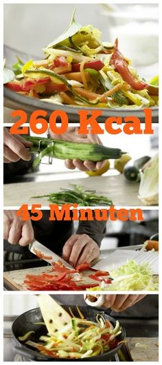 Gemüse auf griechische Art: in der Pfanne gebraten und mit erfrischendem Gurkenjoghurt serviert: Griechische Gemüsepfanne mit Gurkenjoghurt | http://eatsmarter.de/rezepte/griechische-gemuesepfanne#recipe-tabs