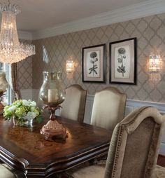Dining Rooms - traditional - Dining Room - Charlotte - Lauren Nicole Designs <3