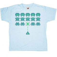 Invaders kids t-shirt -Brendan