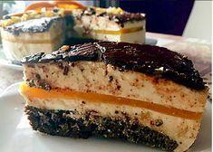 """Szafi Reform szénhidrátcsökkentett narancsos """"túrótorta"""" (gluténmentes, tejmentes, szójamentes) Healthy Cake, Healthy Recipes, Cheesecake, Food And Drink, Sweets, Paleo, Eat, Cooking, Desserts"""