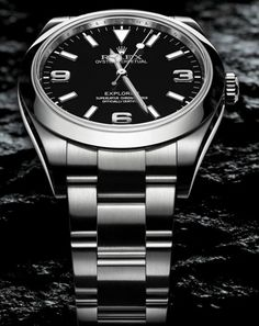 The most affordable Rolex, and my personal favorite.